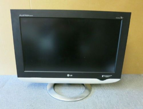 "LG Flatron M2343A 23"" LCD TFT TV Black And White Widescreen Monitor VGA DVI"